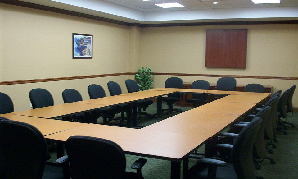 <p>Melville Corporate Center III<br/>Board Room</p>